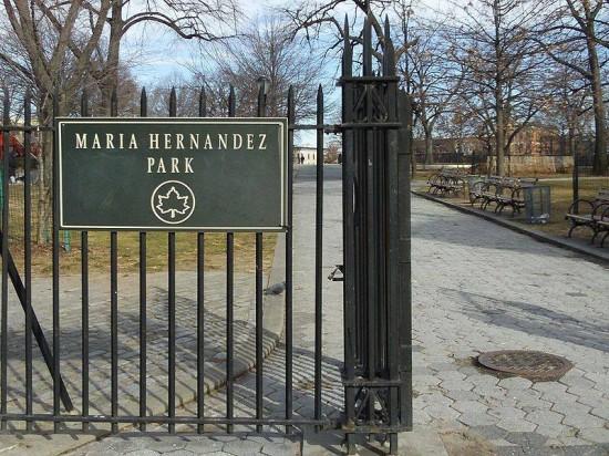 Maria Hernandez Park :Facebook : Bushwick Eco Action Network
